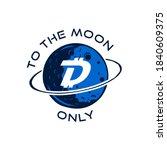 digibyte badge concept. digital ... | Shutterstock . vector #1840609375