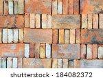 Bricks Stacked In Piles  Brick...