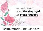 inspiring motivational quote ... | Shutterstock .eps vector #1840844575