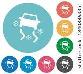 Snowy Road Dashboard Indicator...