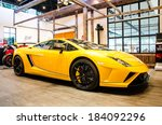 Постер, плакат: Lamborghini Gallardo LP560 4 car