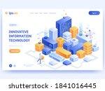 innovative information... | Shutterstock .eps vector #1841016445