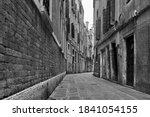 Perspective Of Empty Street In...