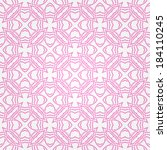 seamless abstract white pattern ... | Shutterstock .eps vector #184110245