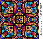 abstract vector ornament ... | Shutterstock .eps vector #1841116042