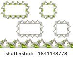 set of seamless constructor old ...   Shutterstock .eps vector #1841148778