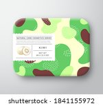 fruits bath cosmetics box.... | Shutterstock .eps vector #1841155972