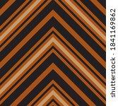 Orange Chevron Diagonal Striped ...