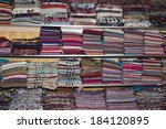collection of many colorful... | Shutterstock . vector #184120895