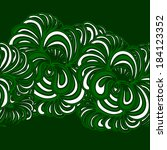 abstract vector illustration ... | Shutterstock .eps vector #184123352