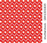 red geometric pattern design...   Shutterstock .eps vector #1841331835