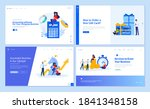 web page design templates... | Shutterstock .eps vector #1841348158