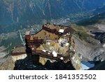 Aiguille Du Midi Peak And Roof...