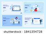 web page design templates... | Shutterstock .eps vector #1841354728