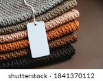 Stack Of Knitted Material From...