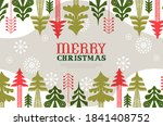 merry christmas web template... | Shutterstock .eps vector #1841408752