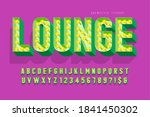 retro cinema font design ... | Shutterstock .eps vector #1841450302