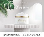 whitening cream in package on a ... | Shutterstock .eps vector #1841479765