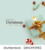 merry christmas and happy new... | Shutterstock .eps vector #1841493982