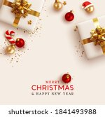 merry christmas and happy new... | Shutterstock .eps vector #1841493988