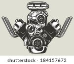 auto,automobile,car,cartoon,chrome,classic,cool,design,dragster,engine,exhaust,fast,gear,hot,illustration