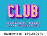 retro cinema font design ... | Shutterstock .eps vector #1841580172