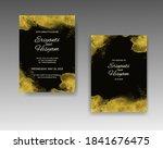 wedding invitation template... | Shutterstock .eps vector #1841676475