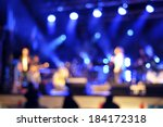 outdoor rock concert light... | Shutterstock . vector #184172318