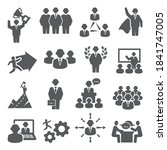 People Icons. Vector Set Isons...
