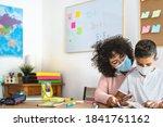 Teacher Woman With Child...