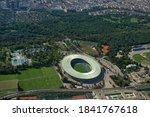 Ernst Happel Stadium In Vienna...
