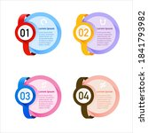 modern infographics design... | Shutterstock .eps vector #1841793982