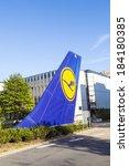 frankfurt  germany   aug 22 ... | Shutterstock . vector #184180385