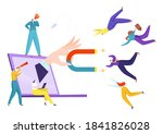 marketing strategy for client ... | Shutterstock .eps vector #1841826028