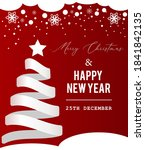 simple christmas and new year... | Shutterstock .eps vector #1841842135