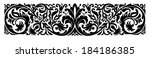 border | Shutterstock .eps vector #184186385
