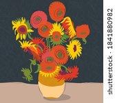 An Illustration Of A Van Gogh...