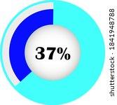 circle percentage diagram...