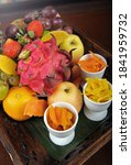 Assorted Fresh Fruits In The...