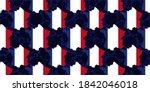 seamless pattern o france map...   Shutterstock .eps vector #1842046018