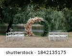 Wedding Arch Under The Tree And ...