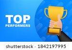 top performers. website... | Shutterstock .eps vector #1842197995