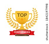 top performers. website... | Shutterstock .eps vector #1842197998