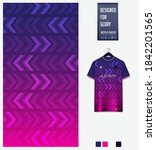 fabric pattern design.... | Shutterstock .eps vector #1842201565