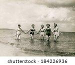 poland  circa 1940's  vintage...   Shutterstock . vector #184226936