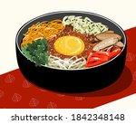 Bibimbap Or Bi Bim Bop Korean...