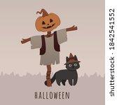 Halloween Character Vector...