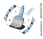 vector illustration with a...   Shutterstock .eps vector #1842545728