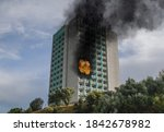 Fire   Explosion In The Hotel...