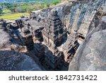 The Kailasa Or Kailash Temple...